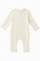 thumbnail of GG Apple Print Cotton Onesie   #1