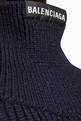 thumbnail of Upside Down High Neck in Wool Knit    #3