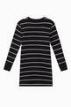 thumbnail of Logo Striped Jersey Dress    #2