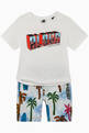 thumbnail of Graphic Print Jersey T-Shirt     #1