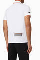 thumbnail of EA7 Cotton-Blend Polo Shirt        #2