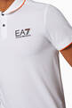 thumbnail of EA7 Cotton-Blend Polo Shirt        #3