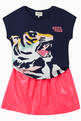 thumbnail of Tiger Side Face Cotton T-Shirt  #1