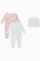 thumbnail of Tiger & Logo Organic Cotton Sleepsuit Set   #1