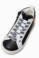 thumbnail of Teddy Bear High-Top Sneakers in LeatherLightly cushioned insole     #3