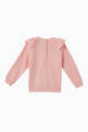 thumbnail of Bear Ruffle-Shoulder Sweatshirt  #2