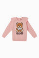 thumbnail of Bear Ruffle-Shoulder Sweatshirt  #0