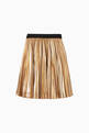 thumbnail of Metallic Pleated Skirt     #2