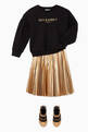 thumbnail of Metallic Pleated Skirt     #1