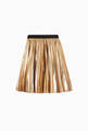 thumbnail of Metallic Pleated Skirt     #0