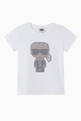 thumbnail of K/Ikonik Studded Print Cotton T-Shirt #0