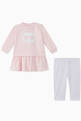 thumbnail of Choupette Cotton Dress & Leggings Set    #1