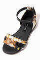 thumbnail of Sandals in Acanthus Nappa Leather   #3