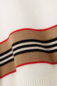 thumbnail of Icon Stripe Panel Merino Wool Sweater     #3
