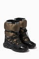 thumbnail of Logo Tape Snow Boots in Padded Fabric   #0