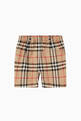 thumbnail of Vintage Check Cotton Tailored Shorts   #2