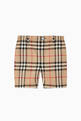 thumbnail of Vintage Check Cotton Tailored Shorts   #0