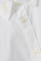 thumbnail of Monogram Stretch Cotton Poplin Shirt   #3