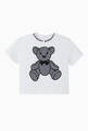 thumbnail of Thomas Bear Appliqué Cotton T-Shirt   #0