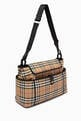 thumbnail of Baby Changing Bag in Vintage Check ECONYL®      #2
