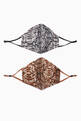 thumbnail of Python Cotton Face Mask, Set of 2    #1