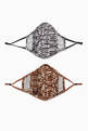thumbnail of Python Cotton Face Mask, Set of 2    #3