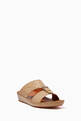 thumbnail of Cinghia Sandals in Matelassé Goatskin Leather     #2