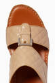 thumbnail of Cinghia Sandals in Matelassé Goatskin Leather     #4