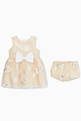 thumbnail of Bodice Dress & Bloomers, Set of 2    #1