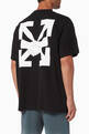 thumbnail of Agreement Arrows Oversized Cotton T-Shirt    #0