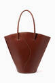 thumbnail of Curve Tote Bag in Leather    #0