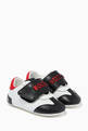 thumbnail of Velcro-strap Sneakers with Logo in Nappa   #0