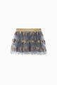 thumbnail of Nella Embroidered Tulle Skirt   #0