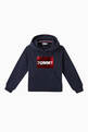 thumbnail of Tommy Flip Sequin Hooded Cotton Sweatshirt    #4