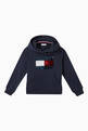 thumbnail of Tommy Flip Sequin Hooded Cotton Sweatshirt    #0