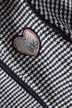 thumbnail of Houndstooth Fur Collar Jacket     #3