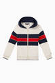 thumbnail of Flag Organic Cotton Colour-Block Hoodie   #0