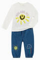 thumbnail of You Are My Sun Organic Cotton T-Shirt    #1