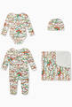thumbnail of Clouds & Rainbow Organic Cotton Maternity Set    #1