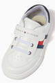 thumbnail of Flag Low Top Velcro Sneakers in Faux Leather    #3