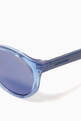 thumbnail of Carrerino 14 Round Sunglasses in Acetate     #2