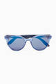 thumbnail of Carrerino 14 Round Sunglasses in Acetate     #0