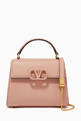 thumbnail of Valentino Garavani Mini VSLING Handbag in Grainy Calfskin #0