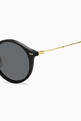 thumbnail of Round Frame Sunglasses    #2
