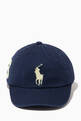 thumbnail of Big Pony Chino Baseball Cap in Cotton   #3