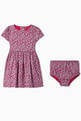 thumbnail of Floral Cotton Dress & Bloomers   #1