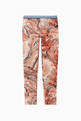thumbnail of Marble Print Cotton Blend Leggings     #0