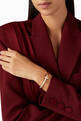 thumbnail of Tiffany T1 Wide Diamond Hinged Bangle in 18kt Rose Gold           #1