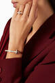 thumbnail of Tiffany T1 Wide Diamond Hinged Bangle in 18kt Rose Gold           #6