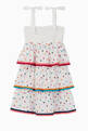 thumbnail of Poppy Shirred Tiered Dress #1
